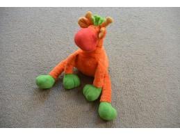 Happy Horse knuffel velours oranje groen rood giraffe Patient