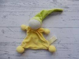 Tiamo de Kandeel lappenpopje badstof groen geel