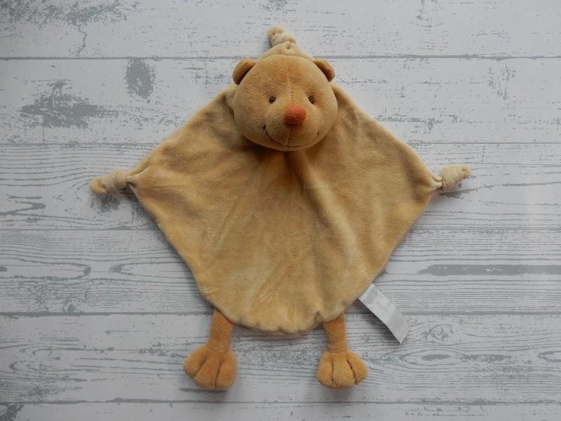 Happy Horse knuffeldoek velours bruin egel Billy 2003