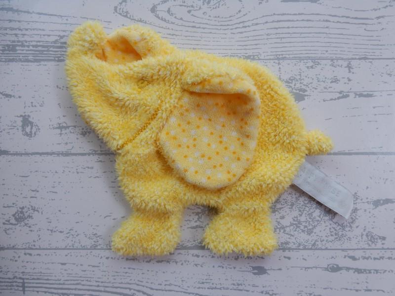 Happy Horse knuffeldoek velours knisper geel Olifant Erin 2006