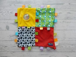 Playgro knuffeldoek labeldoek My First Tutteldoek