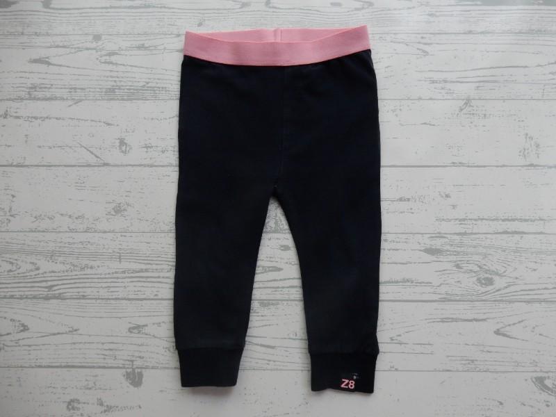 Z8 legging donkerblauw navy hot pink Dorothy maat 74-80