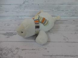 Happy Horse knuffel muziekdoos velours ecru sjaal zeehond Sienna