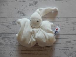 Prenatal knuffeldoek tuttel tutpopje wit