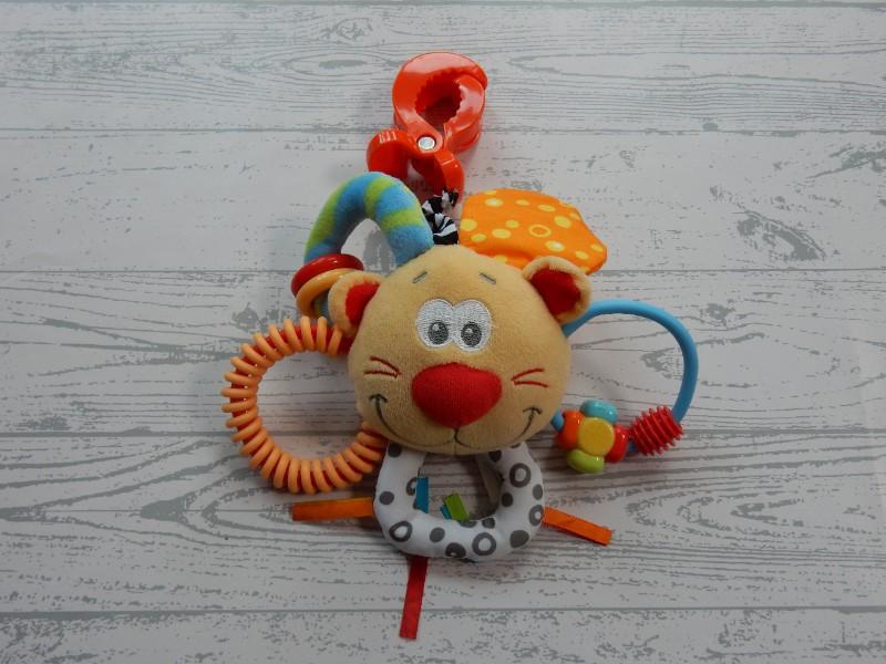 Playgro rammelaar activiteitenspeeltje leeuw tijger