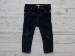River Island Mini Girls jeans donkerblauw dark blue Molly maat 80