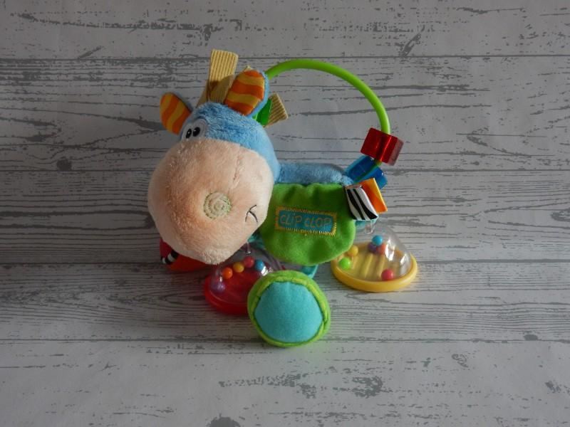 Playgro Activity Rattle activiteiten rammelaar Clip Clop de Ezel