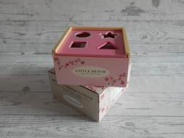 Little Dutch Tiamo houten vormenstoof roze Pink Blossom Nieuw!