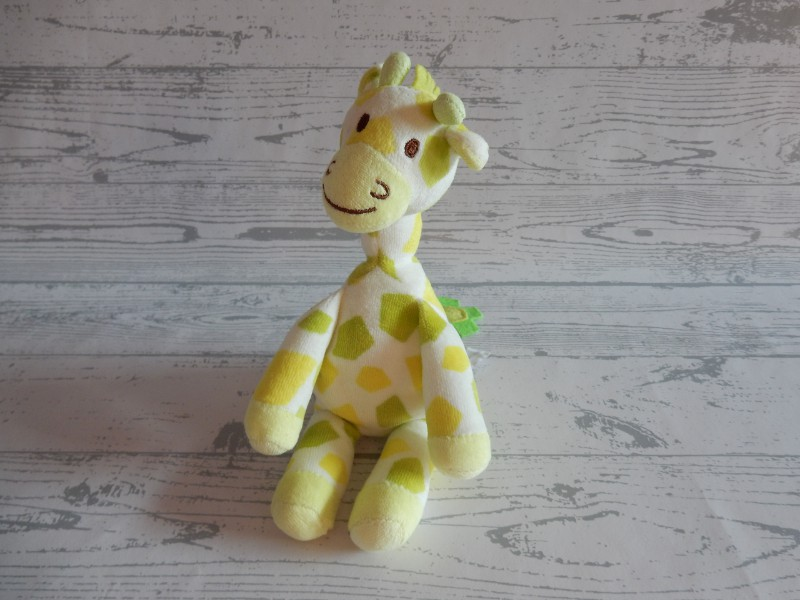 Happy Horse knuffel velours groen limegroen giraffe Goffy 2004