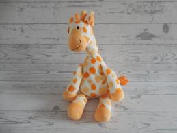 Happy Horse knuffel velours oranje giraffe Goffy 2004