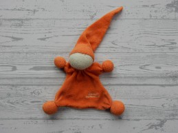 Tiamo de Kandeel lappenpopje badstof oranje