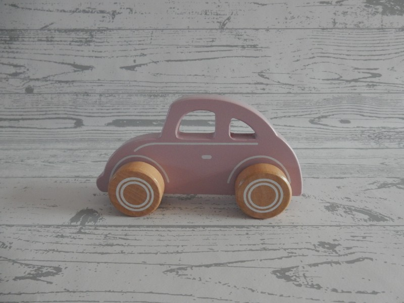Little Dutch Tiamo houten auto roze
