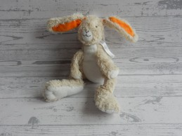 Happy Horse knuffel pluche beige oranje konijn Rabbit Twine