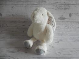 Primark Early Days knuffel pluche wit grijs sterretjes 30 cm Konijn