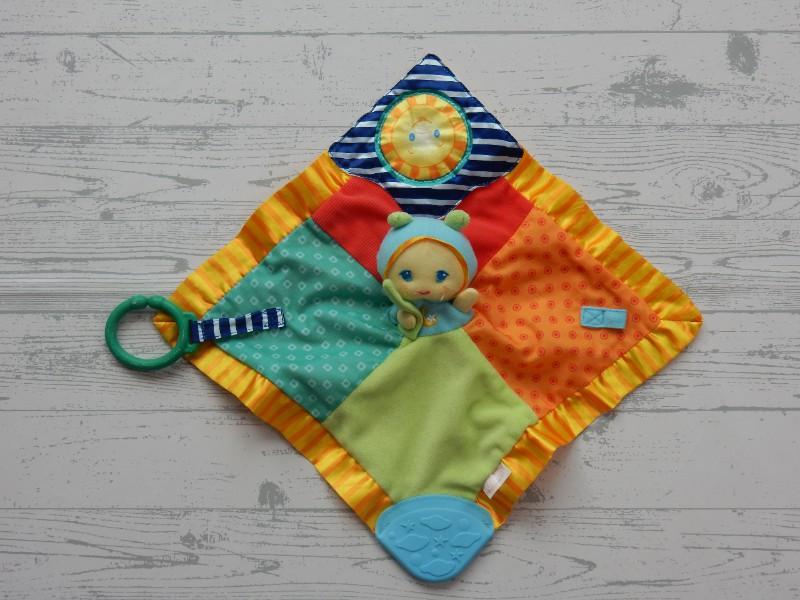 Playskool knuffeldoek Puppet Play Blankie