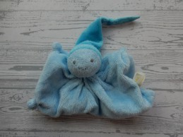 Difrax knuffeldoek softdoek tutpopje blauw lichtblauw