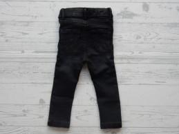 Name it jeans Polly Carlia dark grey denim slim maat 80