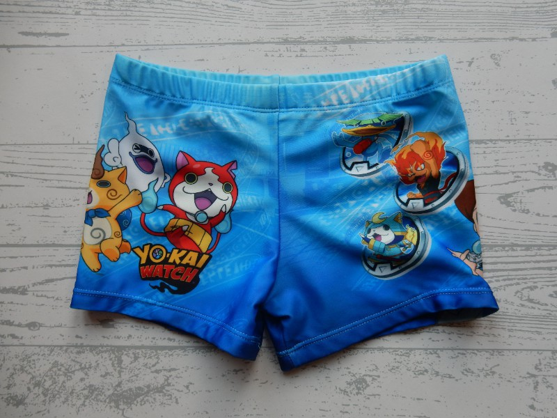 The Cookie Company Yo Kai Watch zwembroek blauw maat 110-116
