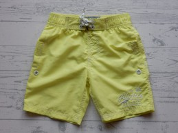 Cars Jeans Kids zwemshort soft neon lime Toce maat 116