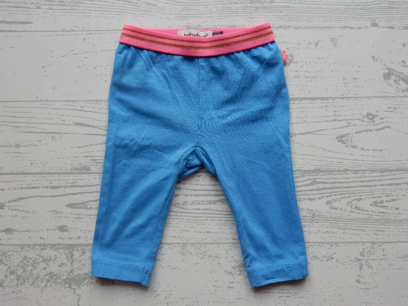 Babyface legging blauw fel roze goud maat 50-56
