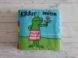 Kikker Max Velthuijs lapjesboek stoffenboek Kikker Buiten