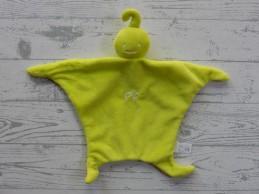Petit Filou P'tit Filou knuffeldoek velours groen lime groen