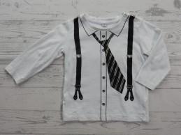 Longsleeve wit blouse...