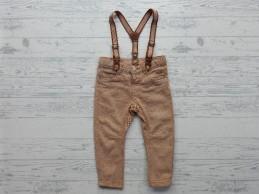 Hema broek bruin retro stof...