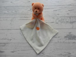 Baby'Nat knuffeldoek ourson...