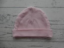 Babymutsje roze 38 cm