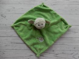 Knuffeldoek velourse groen...