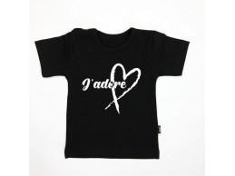 KMDB t-shirt zwart J'adore...