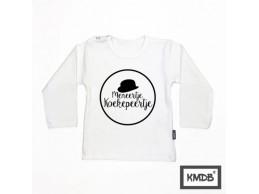 KMDB shirt lange mouw wit...