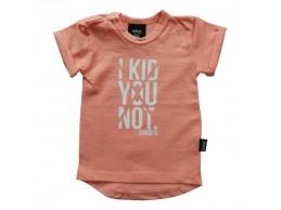 KMDB t-shirt zalm oranje I...