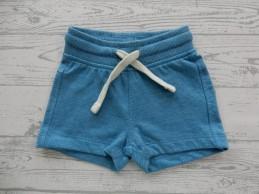 Hema baby sweatshort blauw