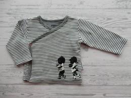 Hema newborn overslag shirt...