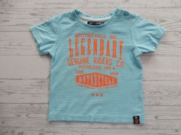 Just Small t-shirt blauw...