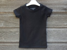 Kinder T-shirt basic zwart...