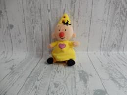 Bumba Studio 100 knuffel pluche velours geel roze 20 cm