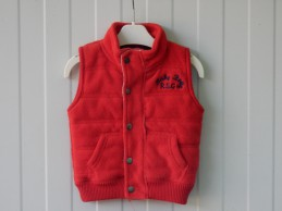 Zara baby bodywarmer fleece...