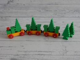 Trein set wagon met bomen...