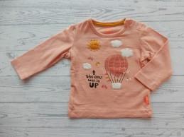 Hema baby shirt lichtroze...