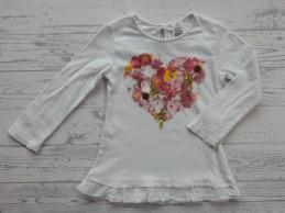 Zara baby shirt tuniek wit...