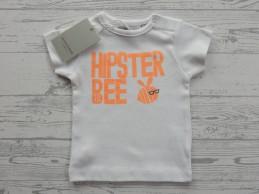 Zero2three t-shirt wit fel...