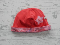 Noppies baby muts roze rood...