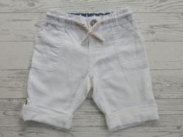 H&M baby short linnen wit...