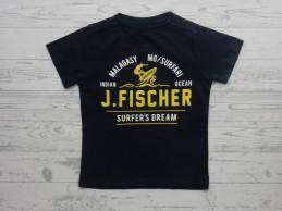 Jake Fischer t-shirt zwart...
