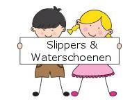 Leuke zomeraccessoires jongens meisjes tweedehands slippers en waterschoen