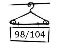 Meisjes Rompers maat 98-104