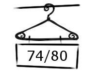 Maillot - Legging maat 74-80